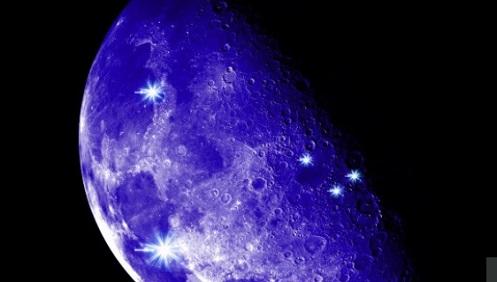 lampi e altri fenomeni di luce misteriosa da vedere sulla luna