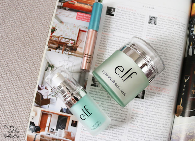 ELF Hydrating Range Bubble Mask, Primer and Molten Liquid Eyeshadow