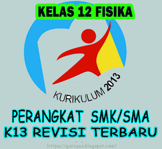 RPP Kurikulum 2013 Fisika Kelas 12/XII  SMA/SMK Revisi 2018