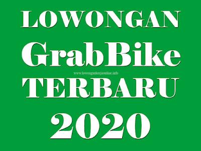 Lowongan Daftar Grabbike 2020