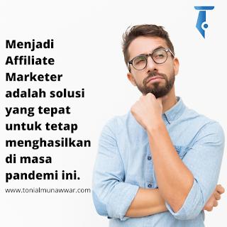 menjadi affiliate marketer