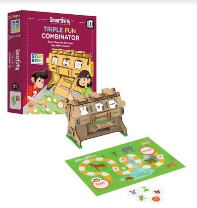 INSPIRE YOUR CHILD THROUGH PLAY WITH SMARTIVITY'S STEM-BASED TOYS