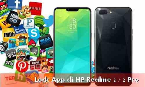 Lock app realme smartphone