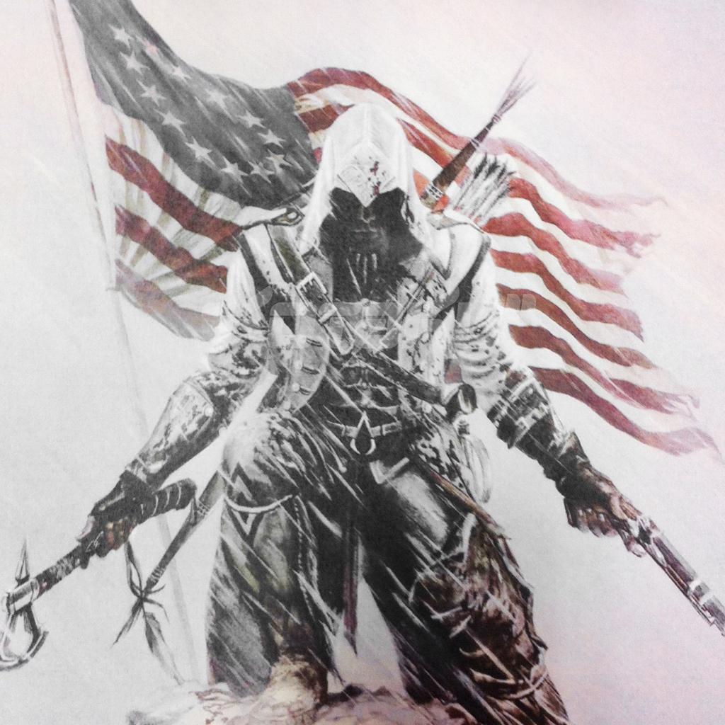 Assassins Creed Iii Ipad Wallpaper