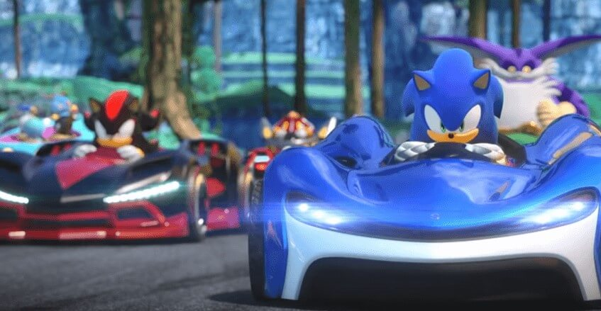 New Team Sonic Racing Team Up Trailer