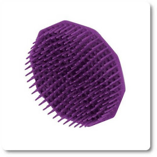Shampoo Brush, Purple by Scalpmaster