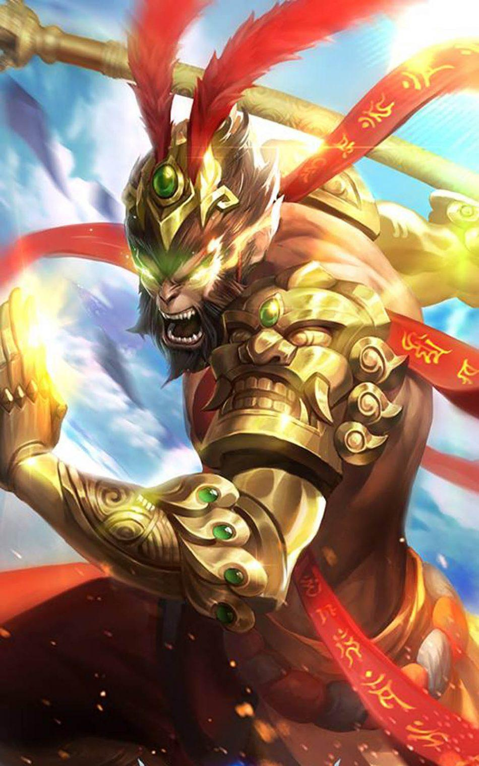 Wallpaper Sun Battle Budha Skin Mobile Legends HD for Android and iOS