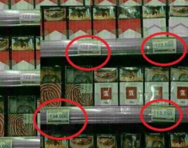 Cukai Belum Naik, Foto Rokok dengan Harga Selangit Beredar
