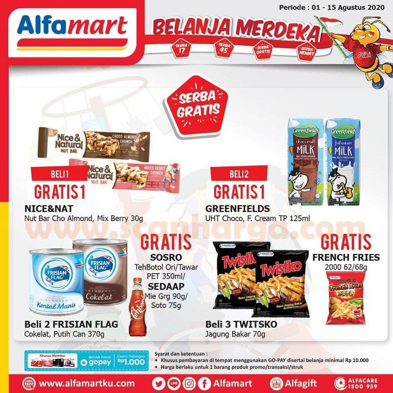 Alfamart Promo Belanja Merdeka Serba Diskon 17% dan 45% Periode 1 - 15 Agustus 2020 4