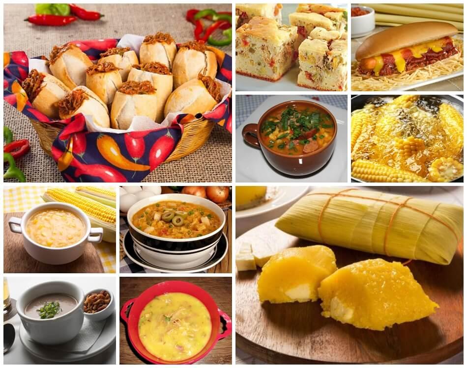 10 receitas de comidas salgadas maravilhosas para festa junina