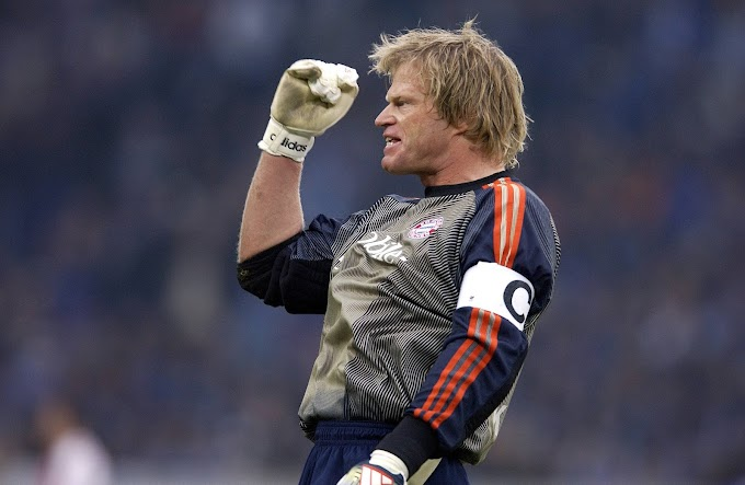 Vídeo: Top-10 defesas de Oliver Kahn pelo Bayern de Munique
