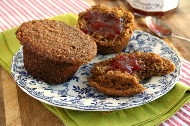 Light Textured Buttermilk Bran Muffins with Natural Bran