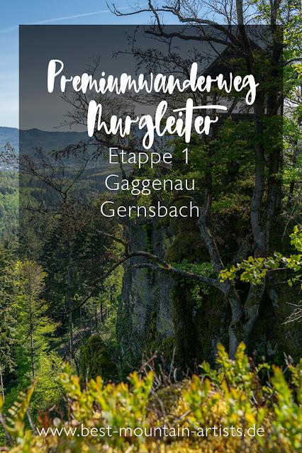 Premiumwanderweg Murgleiter | Etappe 1 von Gaggenau nach Gernsbach | Wandern nördlicher Schwarzwald 30