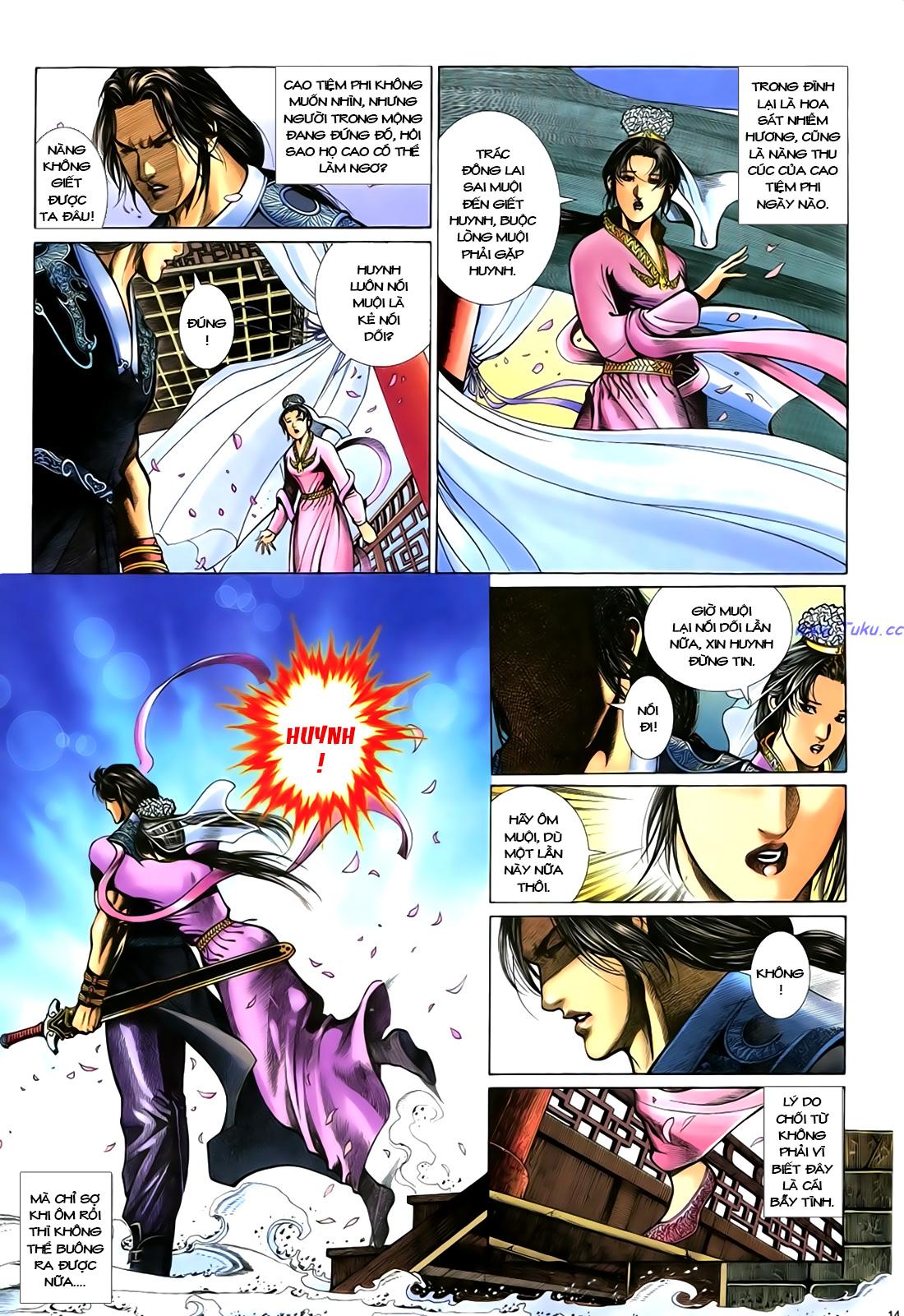 Anh hùng vô lệ Chap 18 trang 15