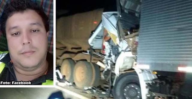 Caminhoneiro de IACRI e seu filho de 6 anos morrem em acidente na Rodovia castelo branco