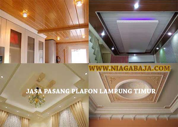 HARGA PASANG PLAFON LAMPUNG TIMUR PER METER 2020 NIAGA BAJA