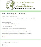 Sutherland Eco Directory and Network joining form