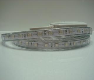 STRISCIA LED RGB 220V 5 METRI