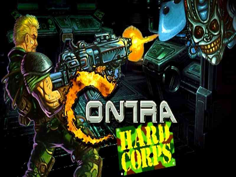 Contra Hard Corps Game Download Free For PC Full Version