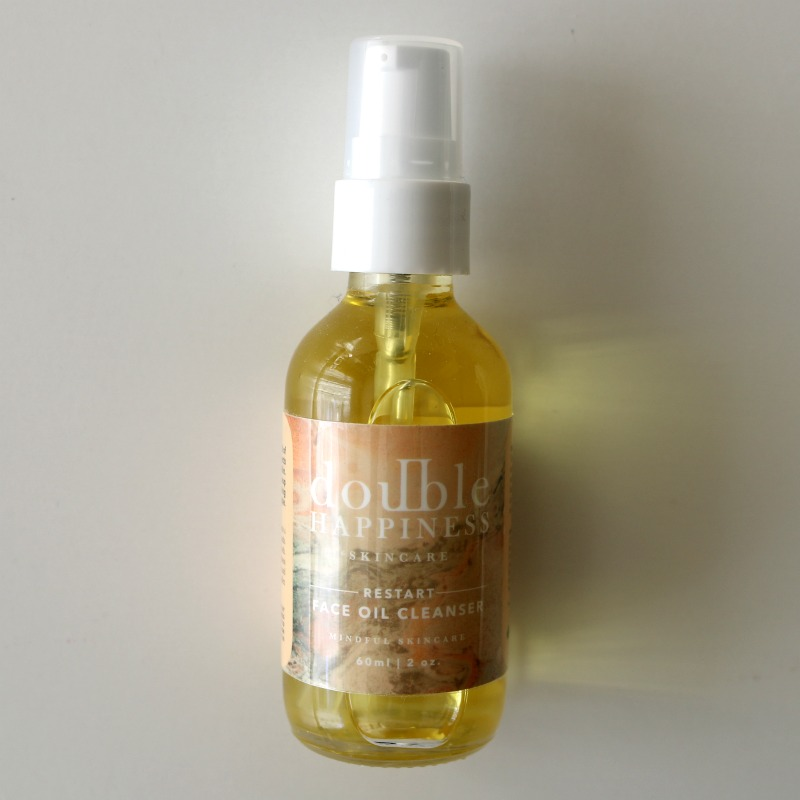 Double Happiness Skincare Restart Face Oil Cleanser Review