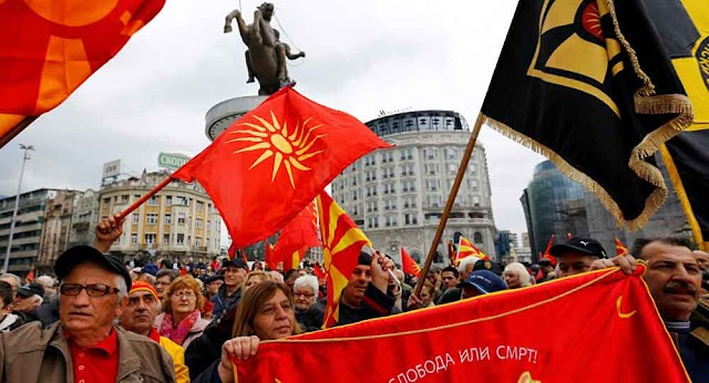 Macedonian Government to ban protests with new law on public gatherings