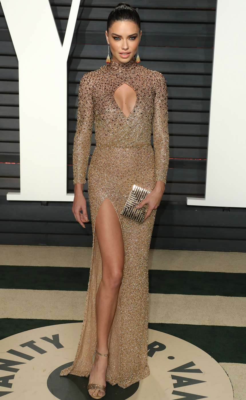 Adriana Lima 2017 Vanity Fair Oscar Party