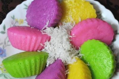 Resepi Apam Nasi Paling Mudah, Sukatan Cawan!