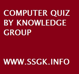 COMPUTER QUIZ BY KNOWLEDGE GROUP