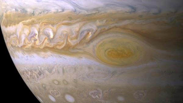 La tormenta mas poderosa del sistema solar