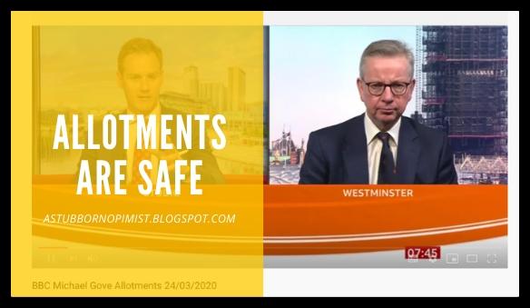 allotments are safe - a stubborn optimist blog - C Gault 2020