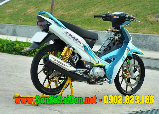 Bảng giá sơn mâm xe Yamaha Sirius tại Sơn xe Sài Gòn