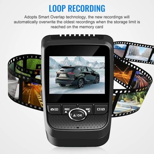 Review Vizomaoi V8 WiFi GPS Cars Dash Cam Camera