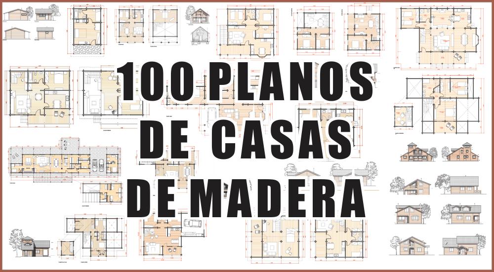 100 planos de casas de madera pdf zent design 2d for Modelos de casas de madera de un piso