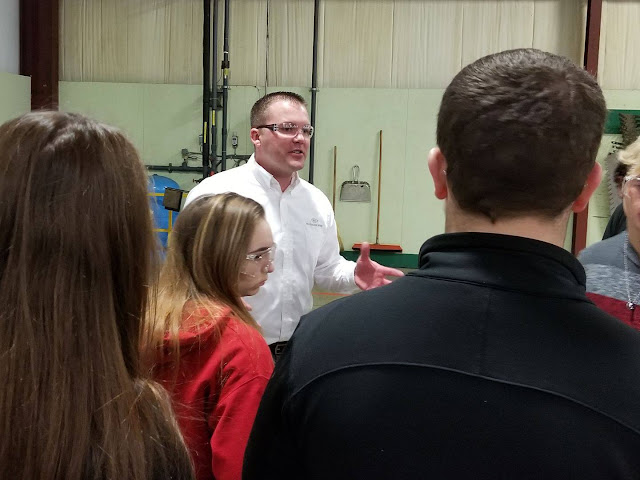 Tri Star CBI Students Tour Pax Machine Works In Celina