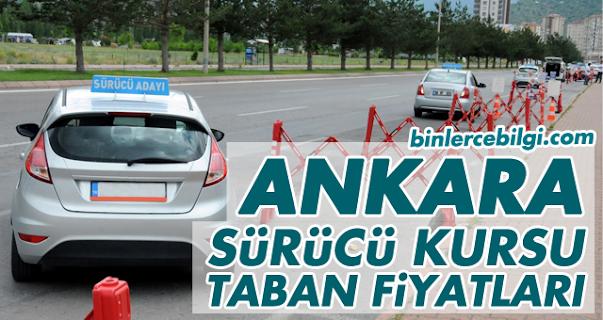 Ankara Sürücü Kursu Fiyatları 2021, Ankara'da Ehliyet Kurs Ücretleri 2021 Taban Fiyat Listesi