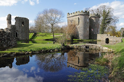 Whittington Castle - photo David Preston