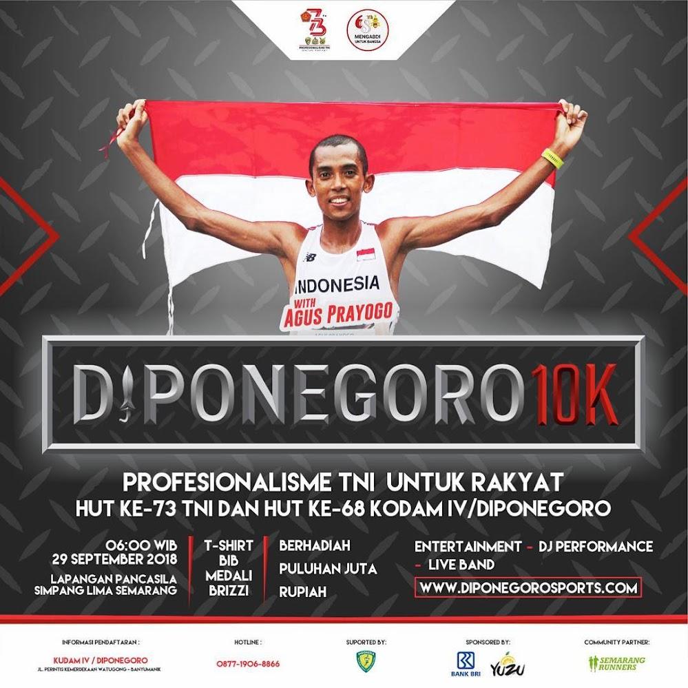 Diponegoro 10K • 2018