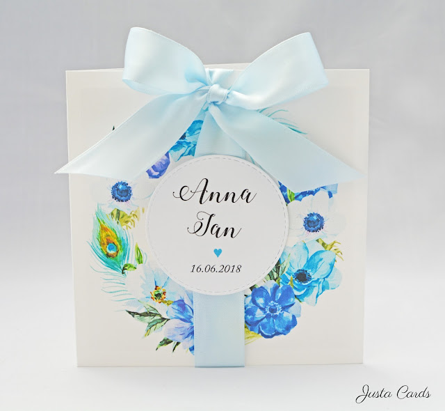 Pawie Oko – Zaproszenie ślubne