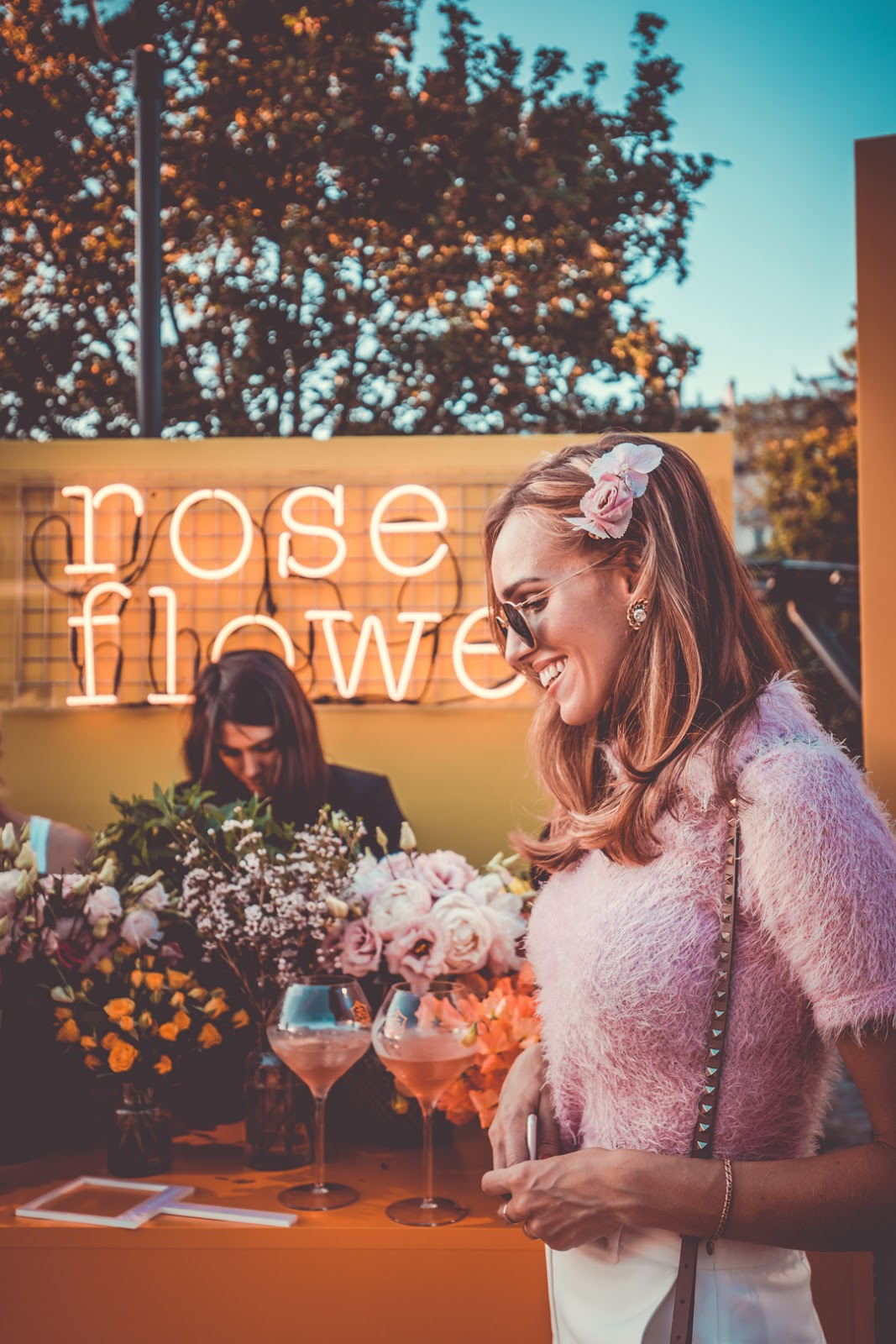kristjaana paris veuve clicquot rose 200 birthday party