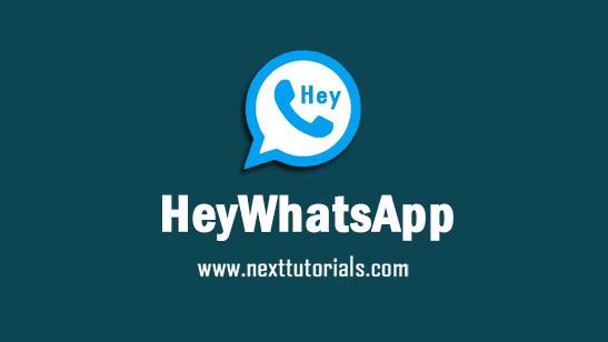 HeyWhatsApp v17.50.0 Apk Mod [UnOfficial] by HEYMODS,Install Aplikasi WhatsApp Anti Banned Terbaik 2021,download wa mod anti-ban,tema whatsapp keren 2021