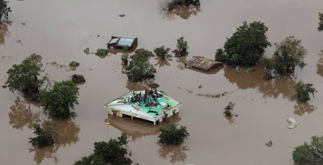 Cyclone Idai Rises 417 death  in Mozambique