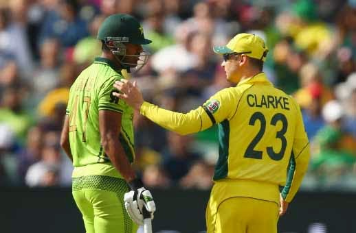 Pakistan dismissed for 213 runs by Australia, Australia Pakistan, The Cricket World Cup, Cricket, Pakistan