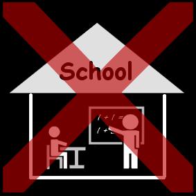 Afbeeldingsresultaat voor geen school