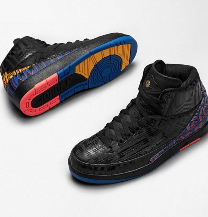 fdd4033a8f3372 THE SNEAKER ADDICT  Air Jordan 2 BHM Black History Month Retro ...