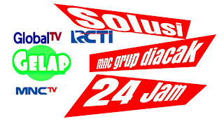 solusi rcti mnc tv gtv global tv yang diacak 24 jam di parabola