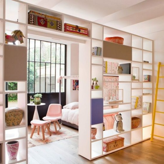 ide inspiratif partisi ruangan rumah minimalis modern