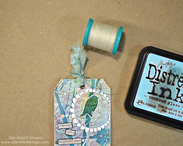 A Strange And Wonderful Place Tag Tutorial Step Four