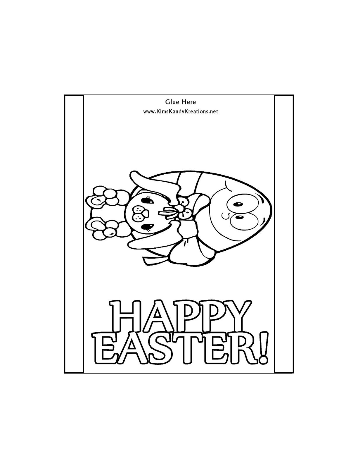DIY Party Mom: Easter Coloring Page Candy Bar Wrapper Free ...