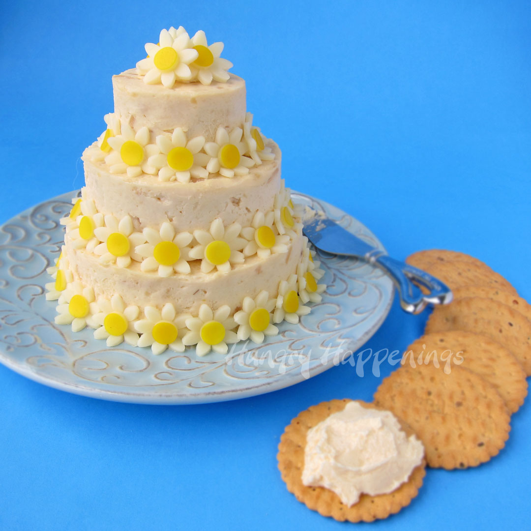 Wedding Cake Cheese Ball Special Occasion Appetizer