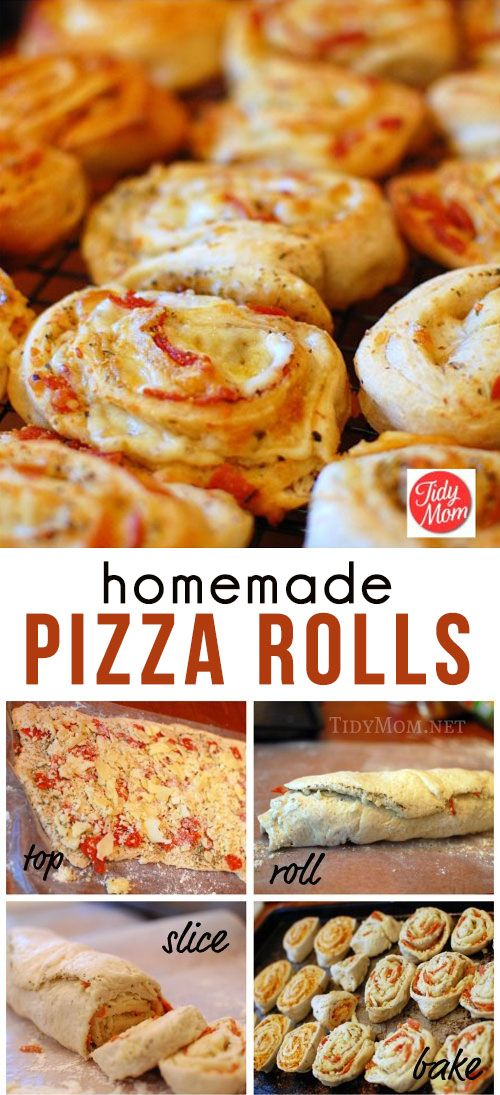 ★★★★☆ 7561 ratings | HOMEMADE PIZZA ROLLS #HEALTHYFOOD #EASYRECIPES #DINNER #LAUCH #DELICIOUS #EASY #HOLIDAYS #RECIPE #HOMEMADE #PIZZA #ROLLS